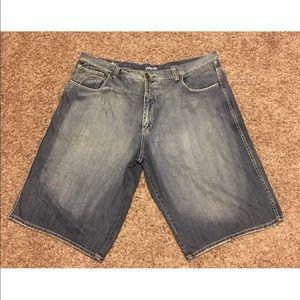 Pelle Pelle Blue Jean Shorts Marc Buchanan Sz 50
